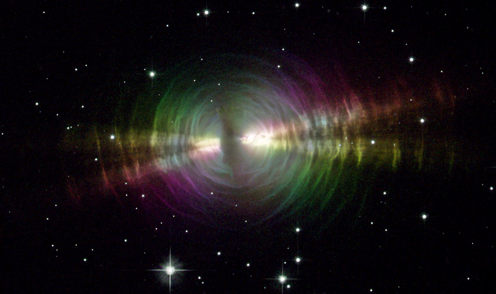 The Egg Nebula, a Planetary nebula discovered in 1996. Source: hubblesite.org